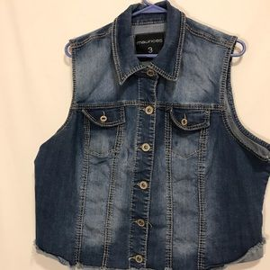 Maurices Jean jacket distressed